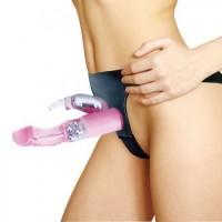 Belden Bağlamalı Klitoris Uyarıcılı Teknolojik Vibratör